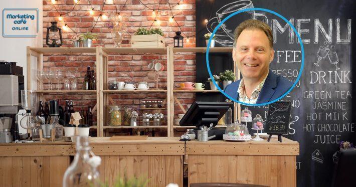 Marketing cafe online